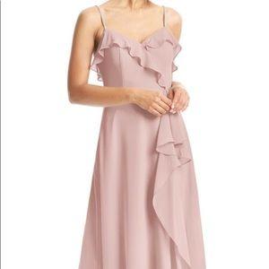 Azazie bridesmaid dress Kendra in dusty rose